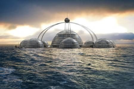 Pływające domy | Jak zamieszkać na wodzie? | Kopuła Sferyczna