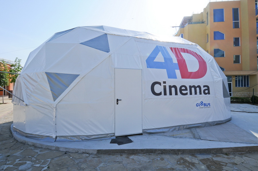 Geodesic Dome For Portable 4D Cinema | Varna, Bulgaria