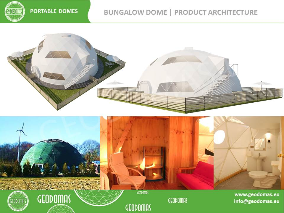 Glamping Hotel 300m2 Ø16m | 26 rooms