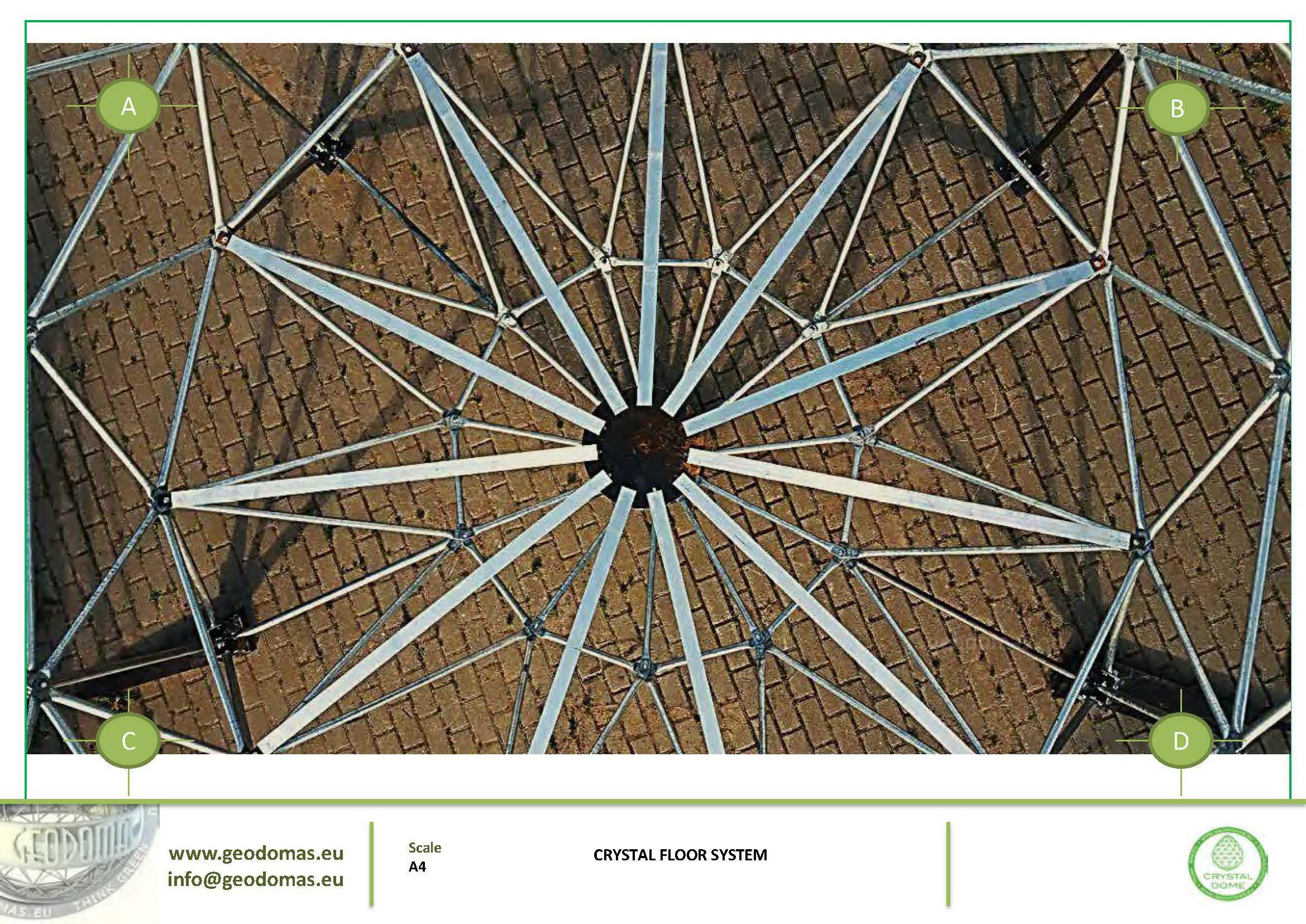 Domek na drzewie CRYSTAL dla dzikiej przyrody | Namiot sferyczny