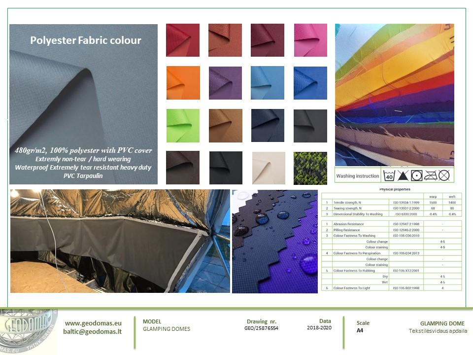 50m² Glamping Biuro Obsługi Klienta  | Kopuła Geodezyjna, Wilno, Litwa