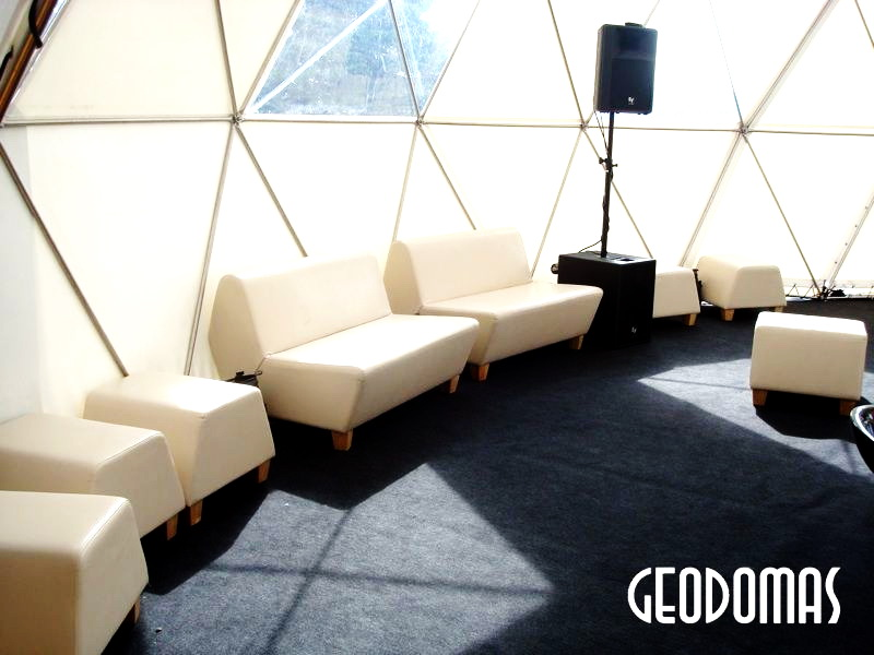 Portable Dome Ø11m for Mode Infection festival   Vilnius, Lithuania