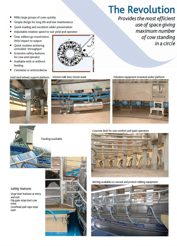Geodesic Industrial Domes Roof For Rotary Milking System