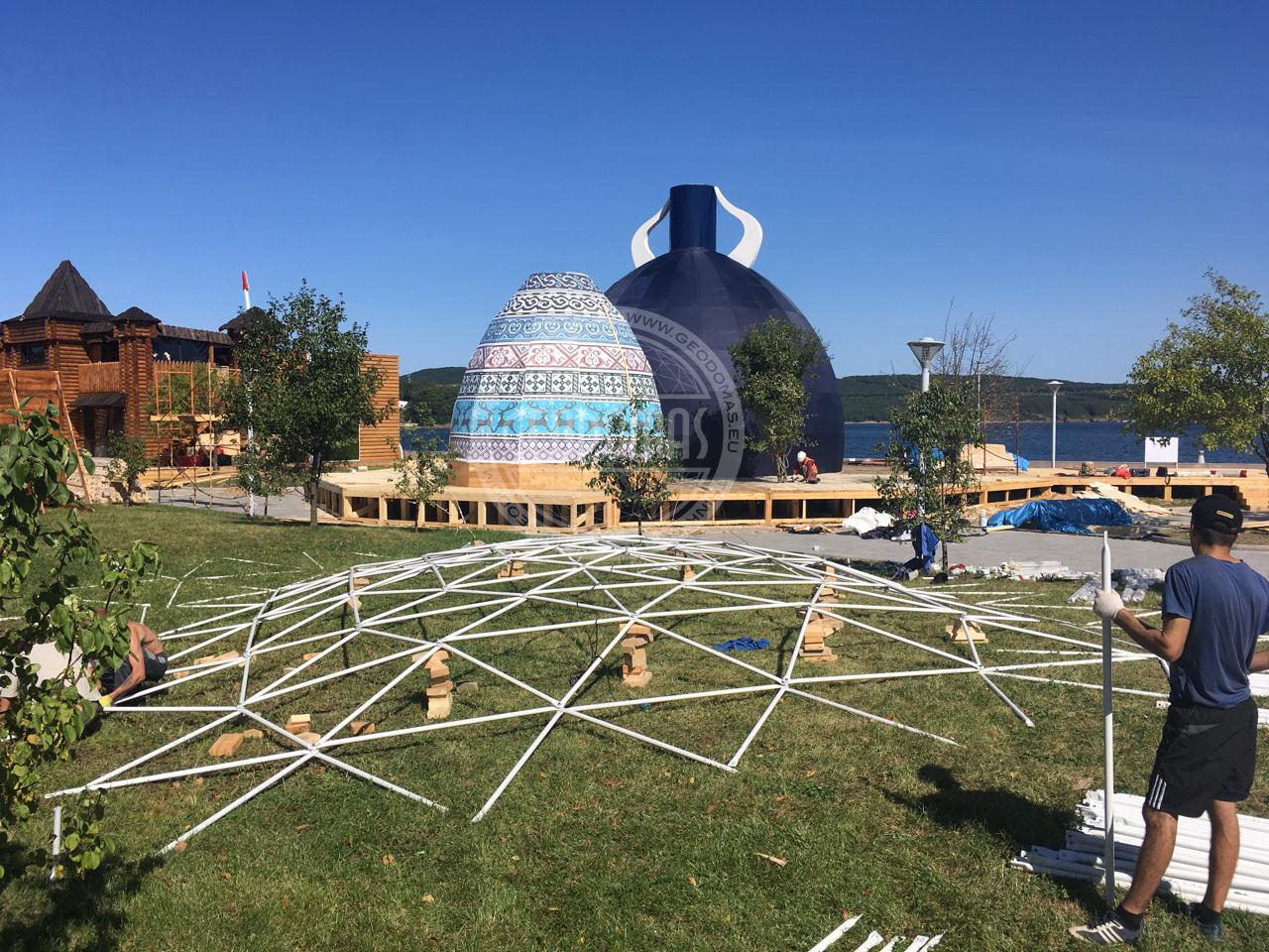 Wschodnie Forum Ekonomiczne 2017 | Ø22m Namiot Kulisty, Władywostok, Rosja