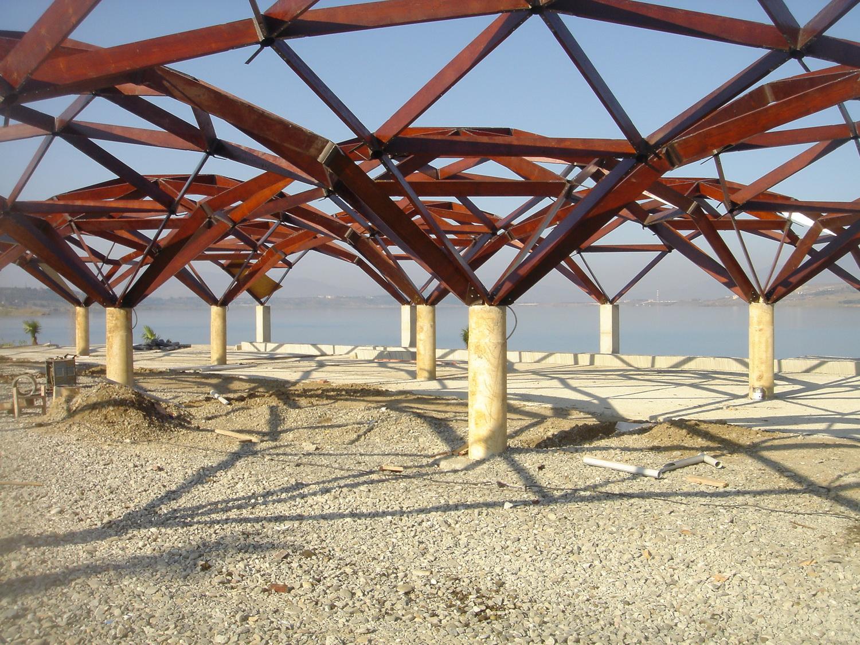Quadrat Domes for Tbilisi Sea Club, 2008 Georgia