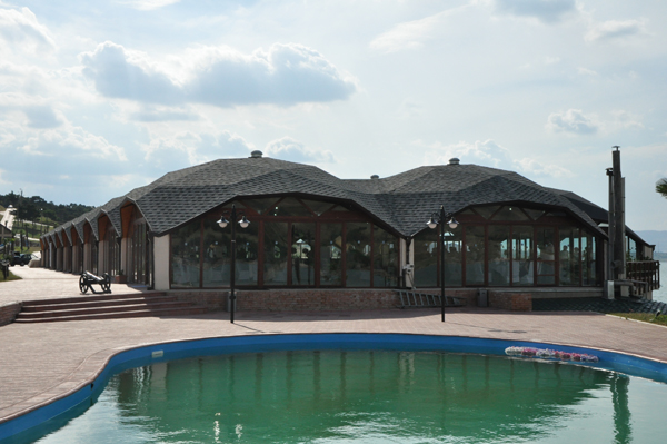 Quadrat Domes for Tbilisi Sea Club, 2008 Georgia