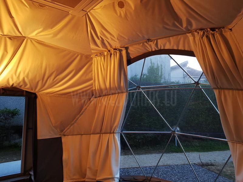 30m² Glamping Sala szkoleniowo-konferencyjna Ø6m | Francja