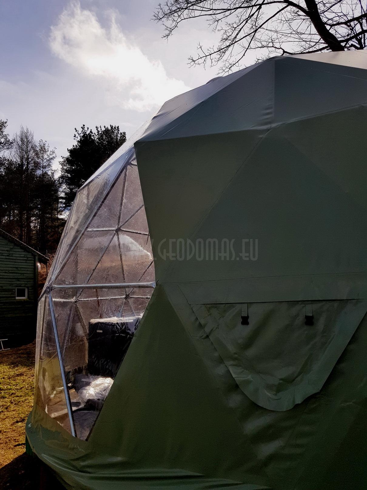Namiot Kempingowy 25m2 Ø5m F3 | Poland, Olsztyn