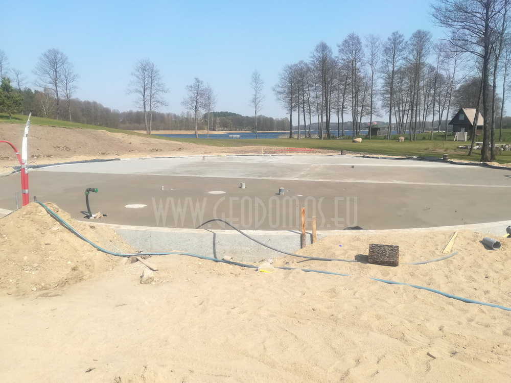 Ø18m F6 H6,5m Playground Dome | Margio recreational resort, Trakai