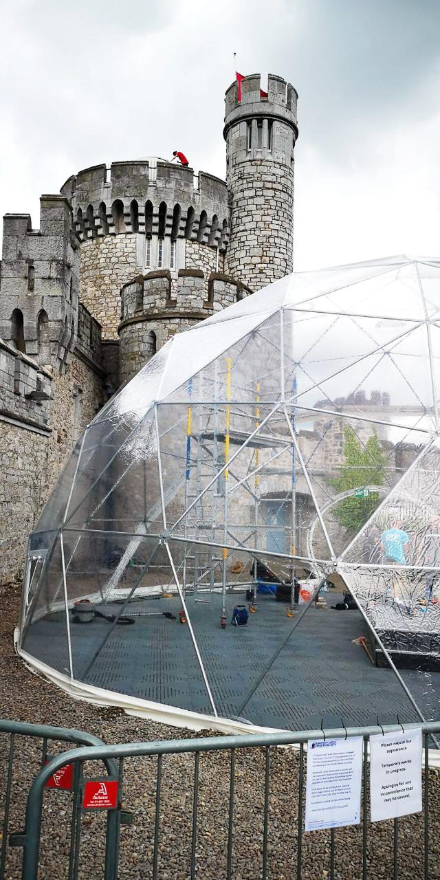Ø11m 95m2 Dome @ Blackrock Castle and Observatory, Cork, Ireland
