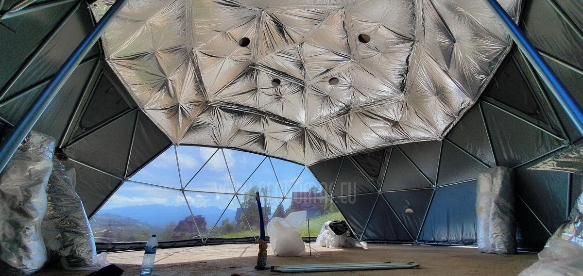 Glamp Royal Resort  | Zakopane, Polska – Domki 35m² Ø6,7m