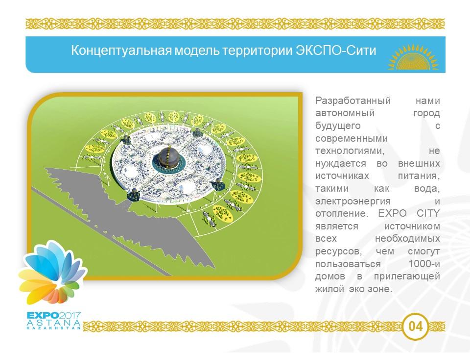 Nasze pomysły i stanowiły podstawę do opracowania projektu Expo 2017